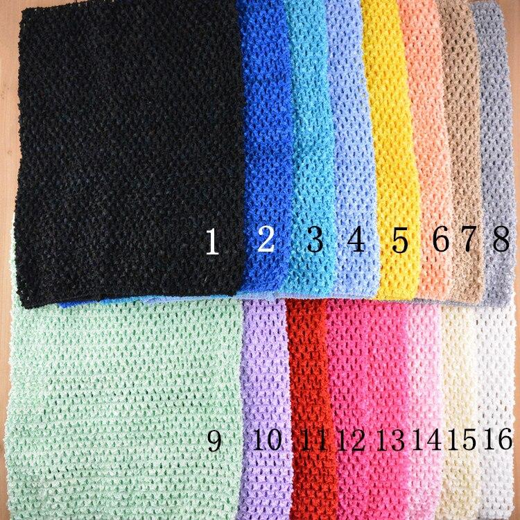 MangNa, 30 шт./лот, оптовая продажа, большие 12 дюймовые вязаные топы-пачки, ободки, 24x32 см, высокое качество, 34 Цвета, доступны