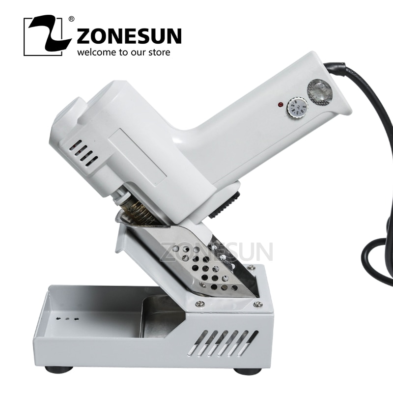 ZONESUN  Desoldering Gun Vacuum Desoldering Pump Solder Sucker Gun heating core suction tin S-993A torch core iron core 90W