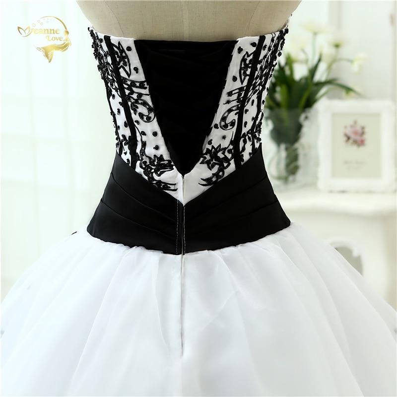 Купить с кэшбэком Vestidos De Noiva Hot Sale 2021 New Arrival  Wedding Dresses Classical A line White Black Women's Vintage Ball Gown OW 0199 Plus