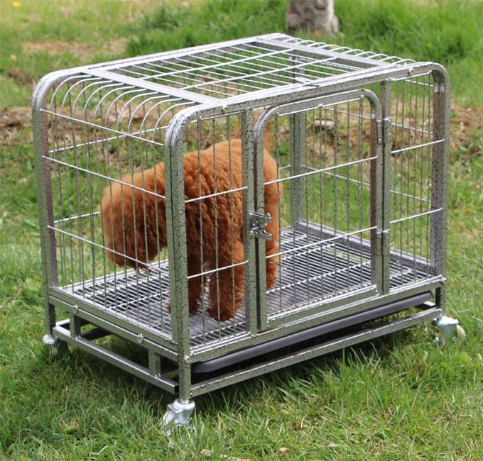 Productos para mascotas 62 (L) * 44 (W) * 55 (H) jaula para perros de tamaño pequeño perrera para Chihuahua Pomerania caniche, yorkshire, venta al por mayor