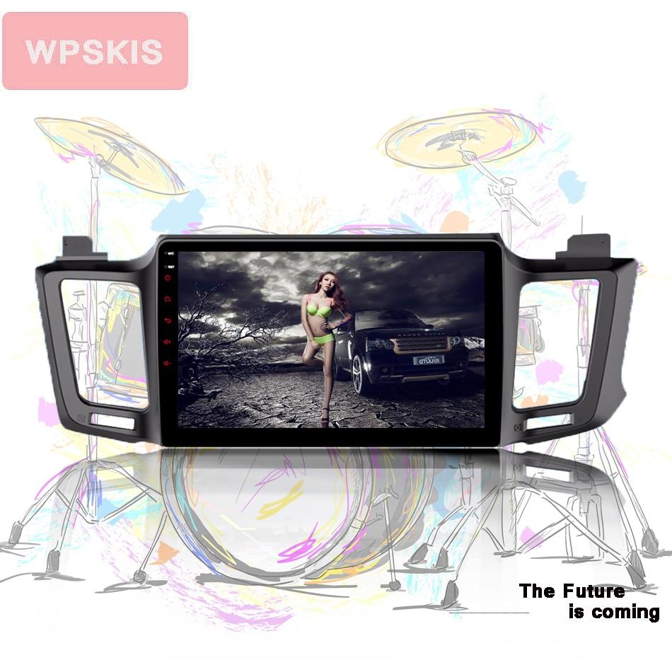 "10.1 ""Core Octa Android 10.0 Do GPS Do Carro para Toyota RAV 4 RAV4 2013 2014 2015 2016 car auto multimedia stereo com MAPA de áudio Estéreo"