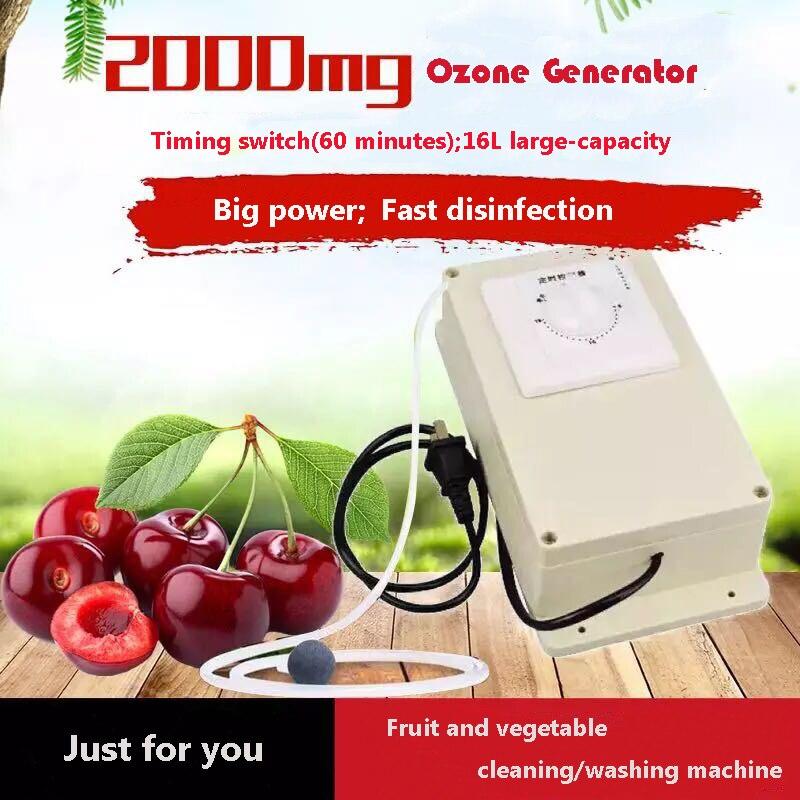 Generador de ozono, purificador de aire, máquina desinfectante de aire, máquina esterilizadora de ozono (interruptor de sincronización)