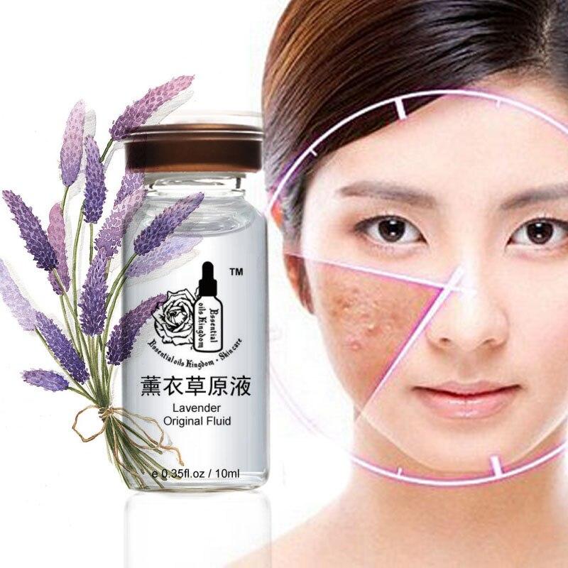 Lavender Original Liquid Face Care Anti-wrinkle Freckle Removing Hyaluronic Acid Moisturizing Firming Anti Aging 10ml*2pcs