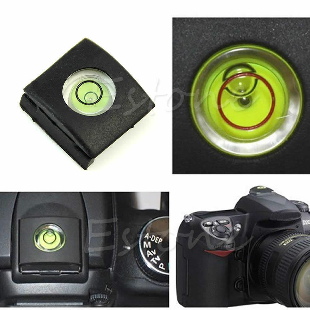 1 Pc Flash Hot Shoe cubierta tapa burbuja nivel de alcohol para Canon Olympus Camera-M43