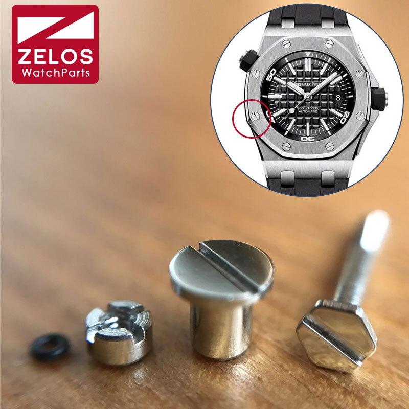 Tornillo para reloj para AP RO 41mm o royal-oak-offshoere diver 42mm caja automática del bisel del reloj 15400 15703 15710