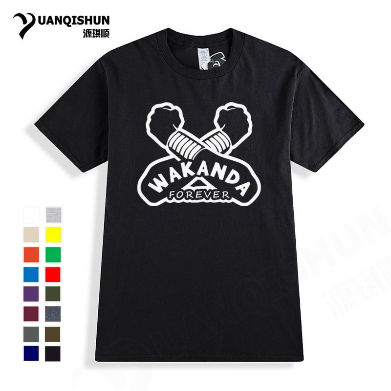 Camiseta recta Outta Wakanda, camiseta de marca Boutique, camiseta de manga corta con tema Pantera Negra, camiseta Unisex de 16 colores para hombres y mujeres