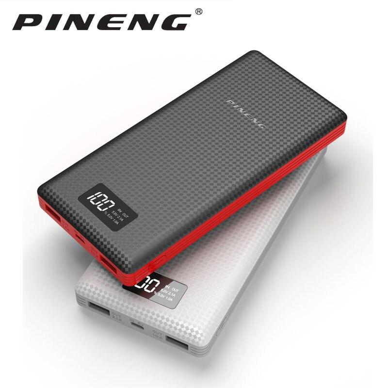 Pineng PN-969/PN-999/pn989 20000 mah ,,, PN-963 10000 mah power bank externa bateria carregador portátil para o telefone/moscou
