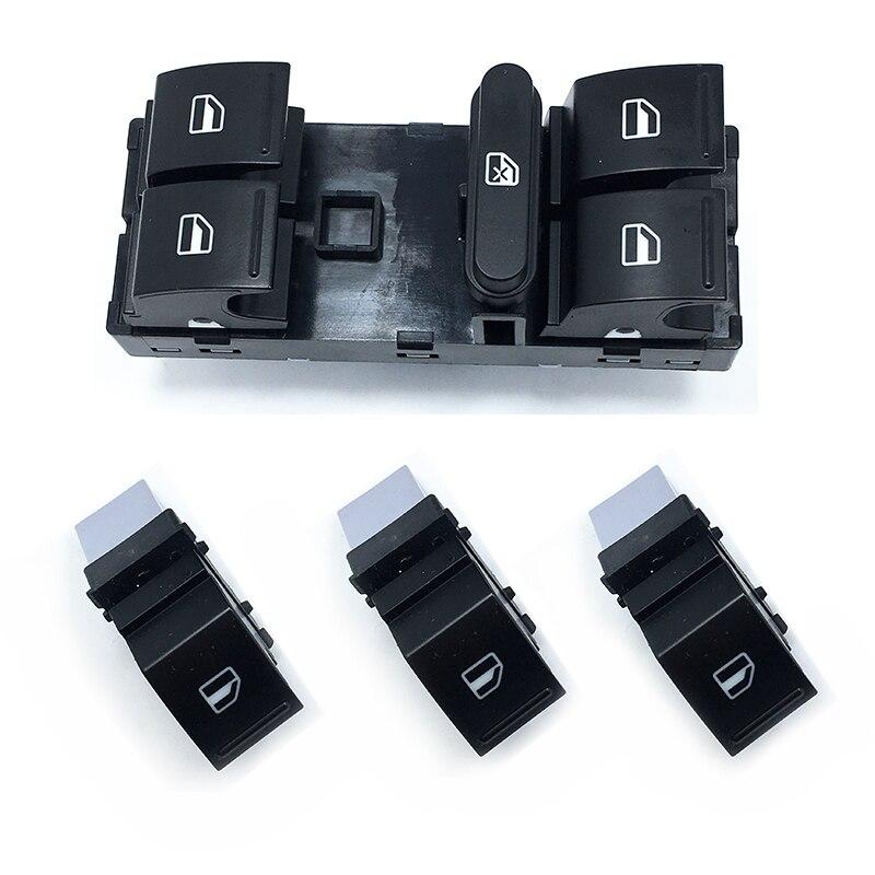 1Set eléctrica OEM conmutador de regulación de ventana para Golf 5 6 Jetta MK5 Mk6 Tiguan Touran Passat B6 B7 1K4 959 B 857 7L0 959 B 855