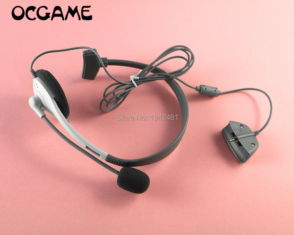 OCGAME 2 pçs/lote Fone De Ouvido fone de Ouvido Fone De Ouvido Fone de Ouvido Para Xbox 360 Fone de Ouvido Branco Fone de Ouvido Ao Vivo para XBOX360