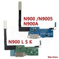 Оригинальный USB-порт для зарядки Samsung Galaxy Note 3 N900 N9005 N900A, печатная плата, зарядное устройство, док-разъем, гибкий кабель