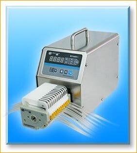 BT100S-1  DG6-8 ( 8channels) Lab Industrial Basic Variable Flow Speed Peristaltic Dosing Pump Fluid Water Pumps 0.00016-26ml/min