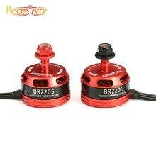 Noir rouge Racerstar 2205 BR2205 Racing Edition 2300KV 2-4S CW/CCW moteur Brushless pour QAV250 ZMR250 260 280 RC quadrirotor
