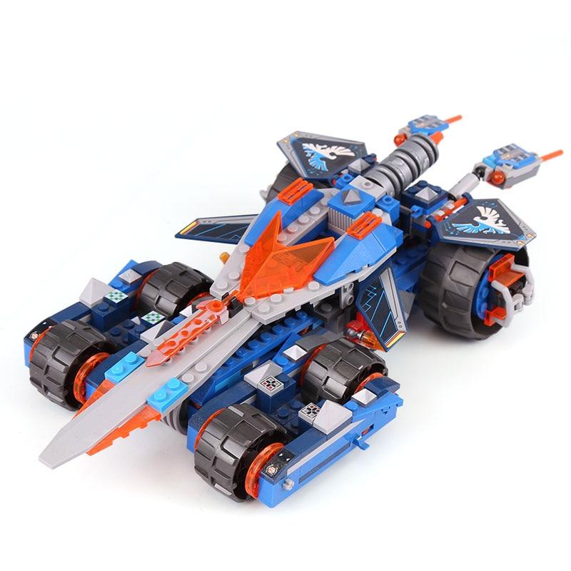 Compatible con lepining bloques de construcción 70315 Nexoe caballeros Knighton Castillo figura juguetes para niños