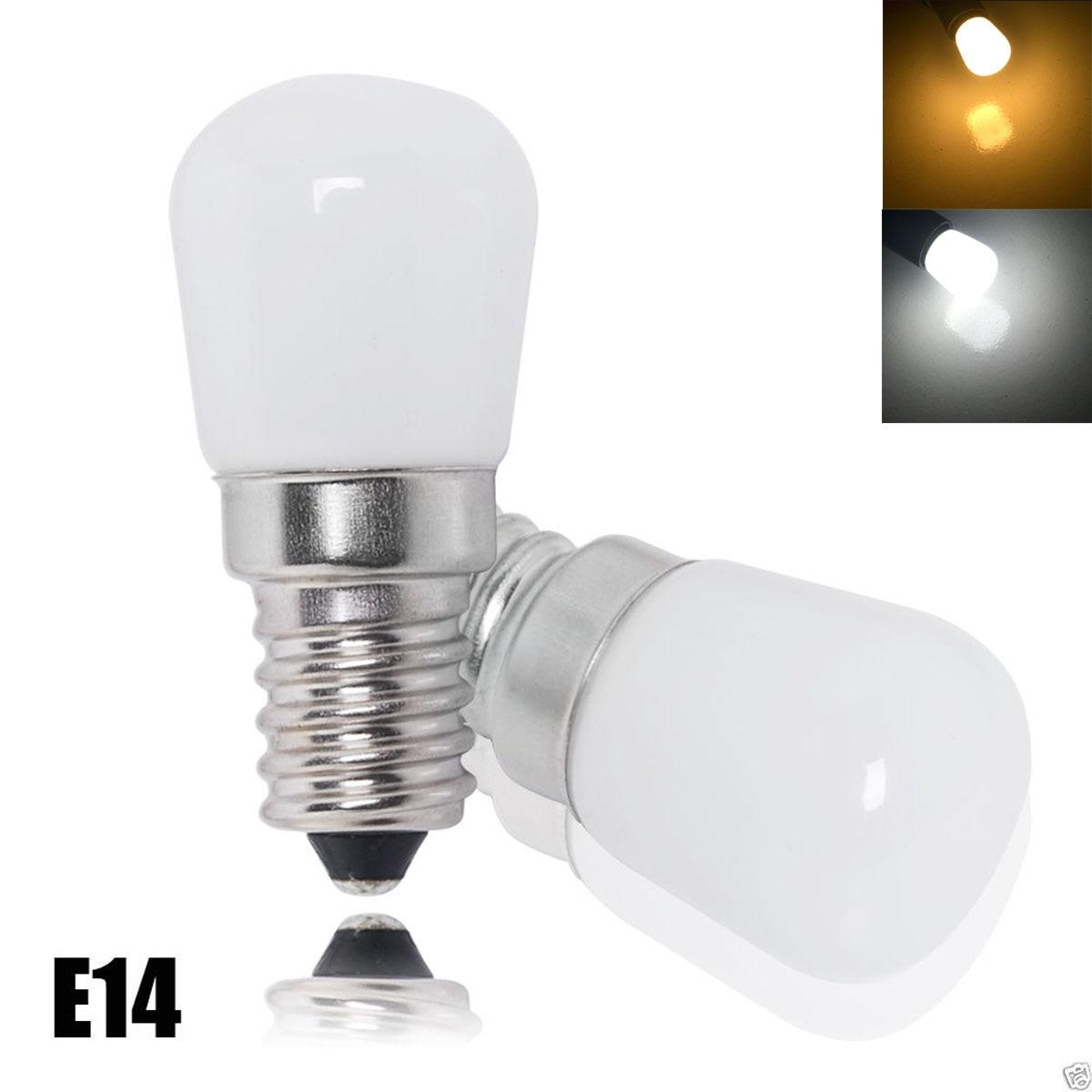 Jiawen 100 unids/lote refrigerador luz Led mini bombilla 220 V lámpara brillante para nevera congelador lámparas de araña de cristal iluminación