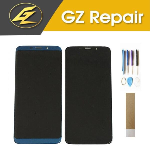 Pantalla LCD Koolnee K1 de 6,01 pulgadas con Sensor de pantalla táctil, conjunto de digitalizador de vidrio, Color negro y azul con cinta de herramientas