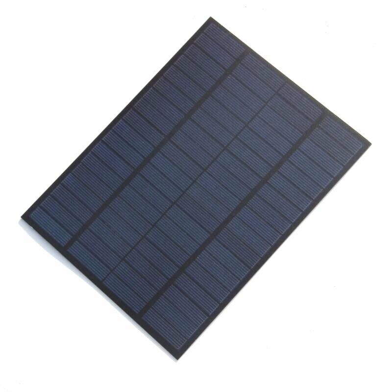 5 W 18 V sistema de paneles solares policristalinos módulo Solar Cargador Solar para cargador de batería de 12 V 2 unids/lote envío gratis