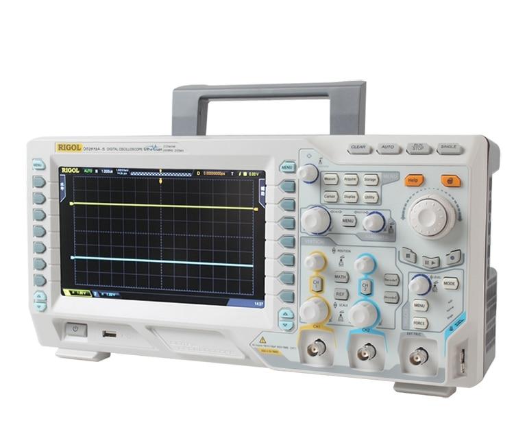 RIGOL DS2072A-S 70MHz osciloscopio Digital 2 canales analógicos