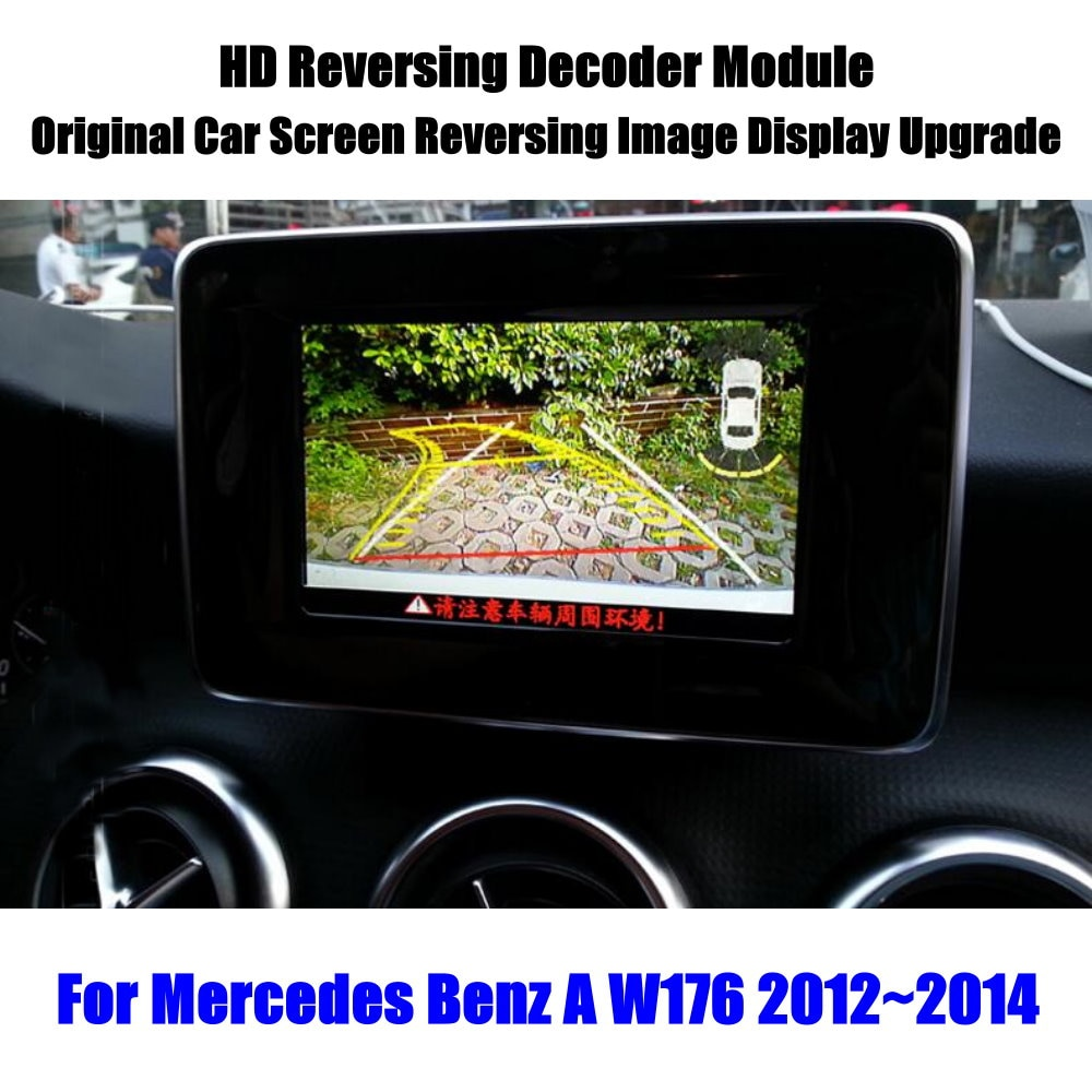 HD Reverse Reversing Parking Camera For Mercedes Benz A W176 2012 2013 2014 2015 Rear View Rearview Backup Decoder