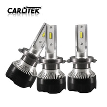 CARLitek H1 H7 H11 Car Headlight Bulb Led CSP 10000LM 6000K White Spot Beam Fog Lights Vehicle Bus Auto Headlamp Car Lighting