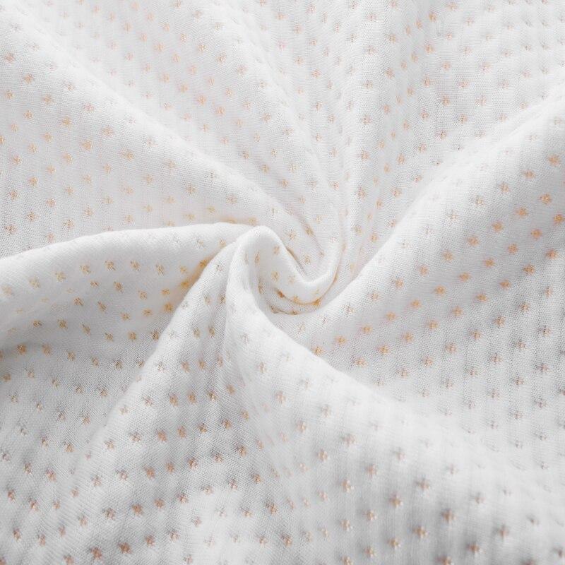 YRHCD tela con capa de aire fundas de almohada lentamente memoria fundas de almohada dormir ropa de cama funda de almohada sólo 60x34x12 cm