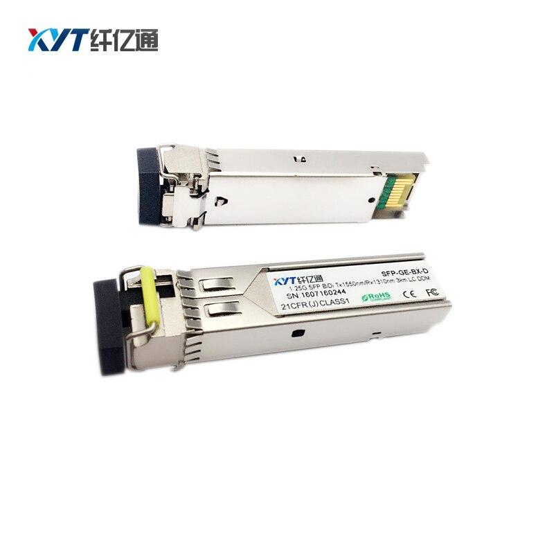 1 par 155M 3km módulo SFP bidi con DDM conector LC 1310/1550nm módulo transceptor óptico