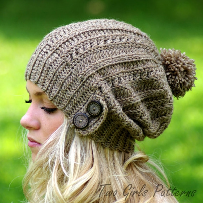 Gorro tejido de pelo frío y cálido para mujer, para invierno, sombrero de muelles, gorro caliente elástico, tejido liso y suave nuevo, 2020
