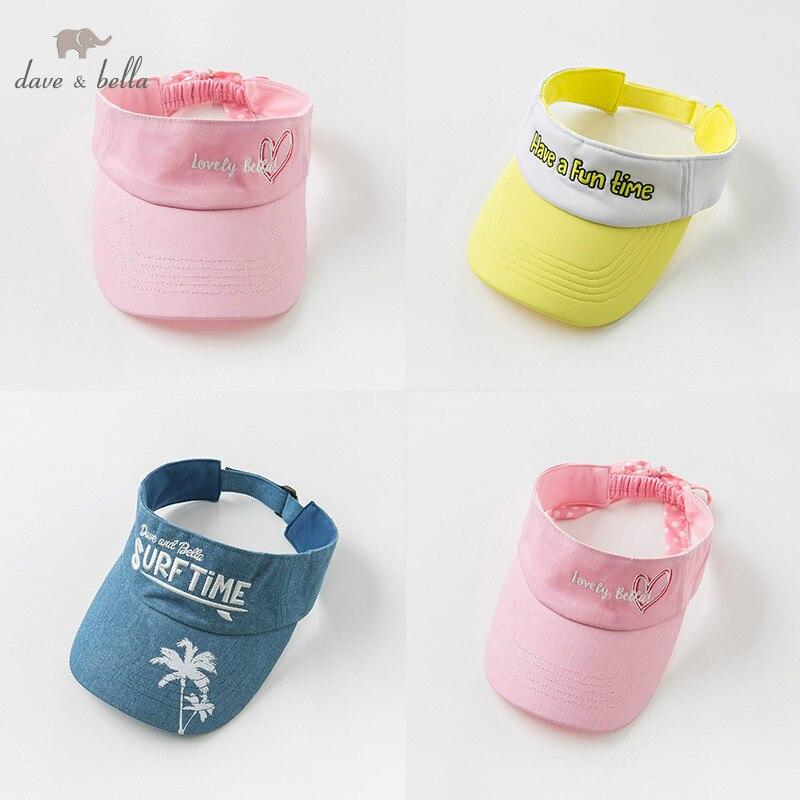 DBK9870 דייב bella קיץ יוניסקס תינוק בנות תינוק ילד בייסבול כובע ילדי בוטיק כובע ילדי ספורט ללבוש