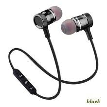 Écouteurs bluetooth sans fil de sport pour casque xiaomi casque Bluetooth 4.1 casque pour iPhone Samsung écouteur magnétique intelligent
