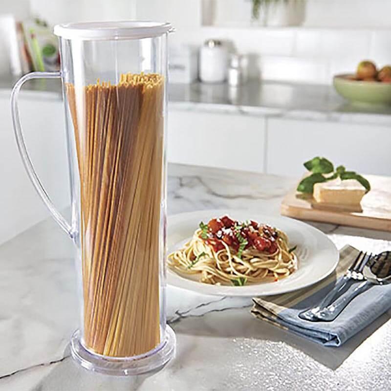 ¡Novedad! Máquina de espagueti para Cocinar Pasta Express, recipiente de tubo para Cocinar Pasta, fácil de cocinar, envío directo