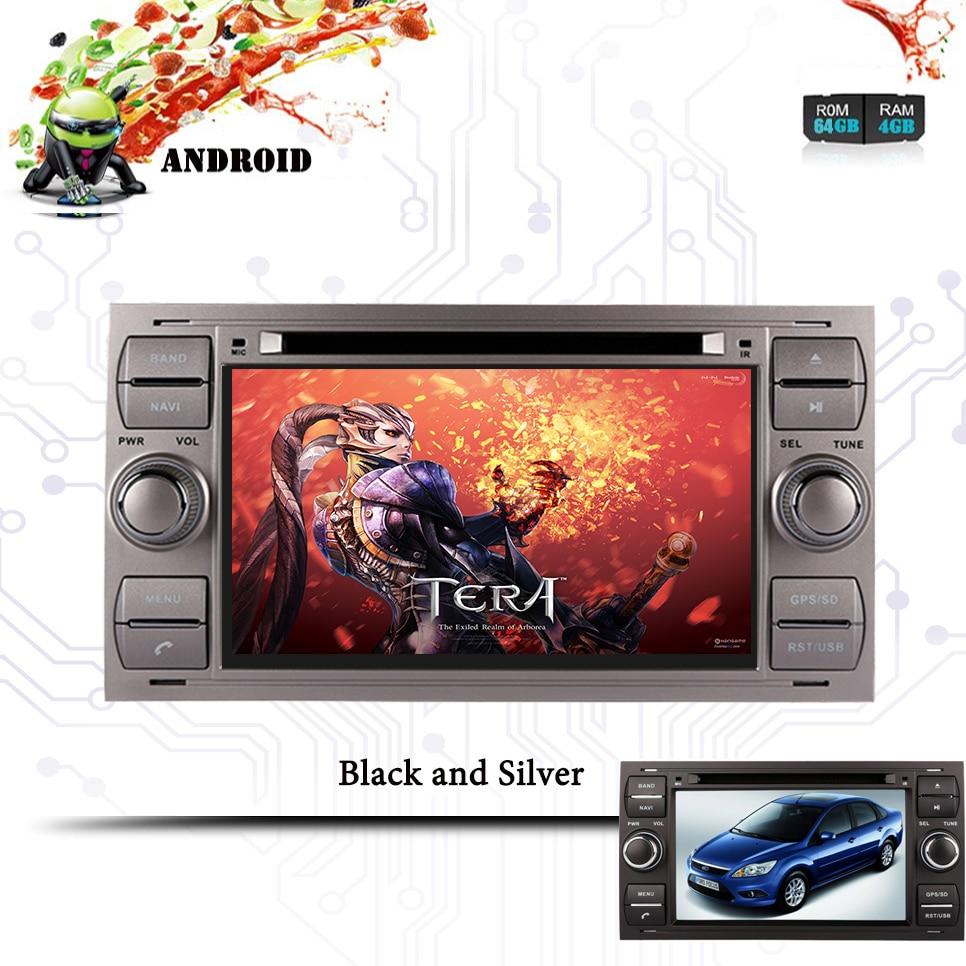 3/4G SIM LTE Octa 8 Core Android 9,0 para Ford Mondeo Ford S-max Focus C-MAX reproductor de DVD del coche GPS Navi Radio WIFI 4G BT 4GB RAM 64G ROM