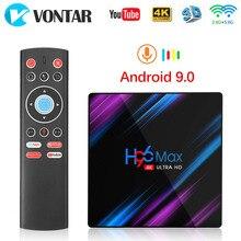Android 9,0 TV Box Rockchip RK3318 H96 MAX 4GB 64GB 32GB USB 3,0 1080P H.265 4K 60fps Google Player Shop Netflix 2GB 16GB H96MAX