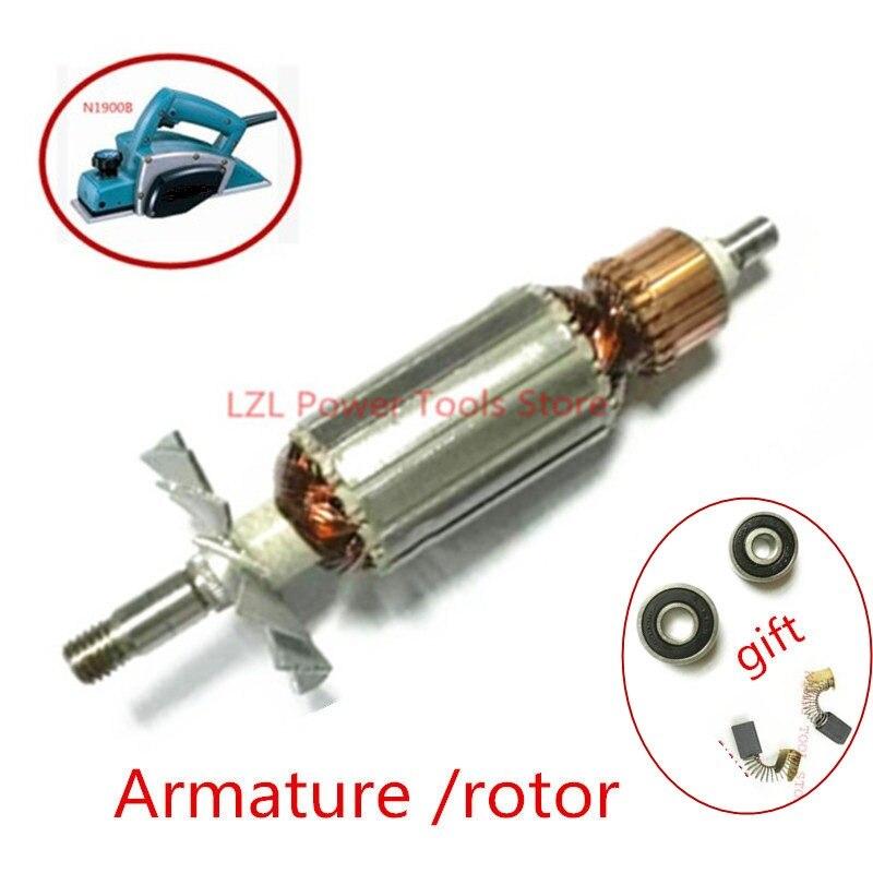 Сменный электродвигатель для MAKITA MT190 1923B N1923B 1902 1901 511938-9 511939-7, портативный ротор для строгания