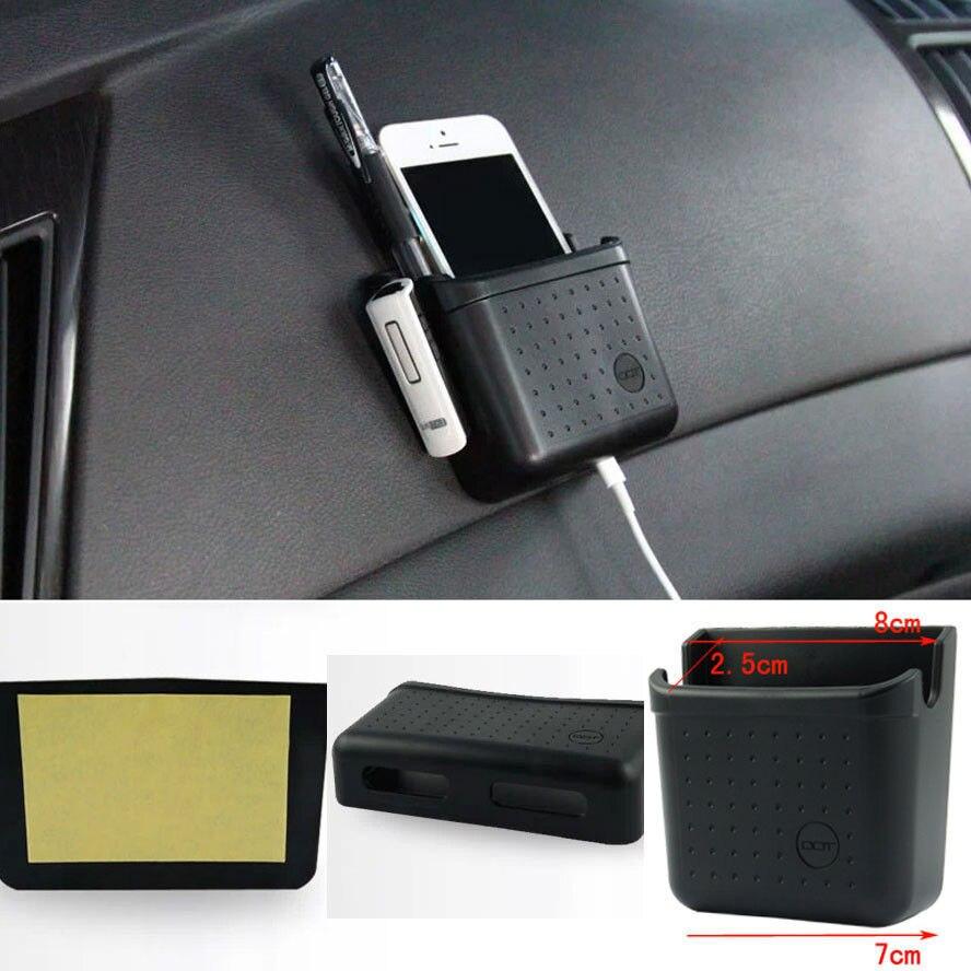 Caja de almacenamiento de puerta de coche, cargador de teléfono, soporte Organizador de bolsillo para BMW VW Audi Jeep Kia, accesorios universales para coche