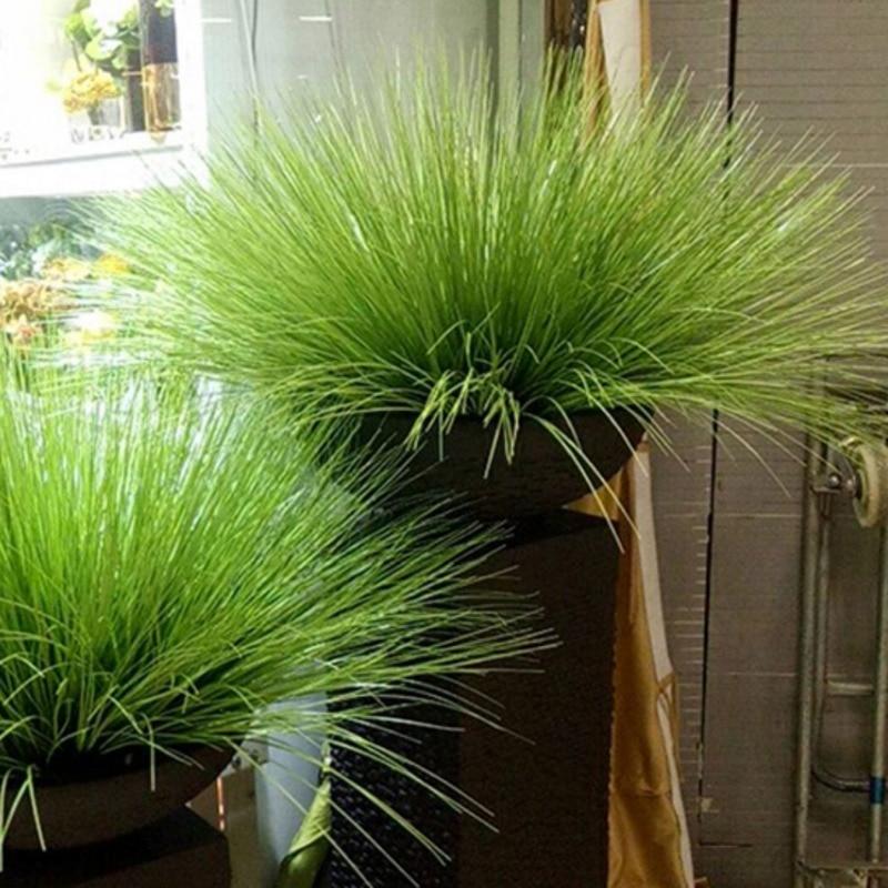 64cm Artificial leave simulation leaf onion grass silk flower decoration flower arranging lawn engineering simulation plants