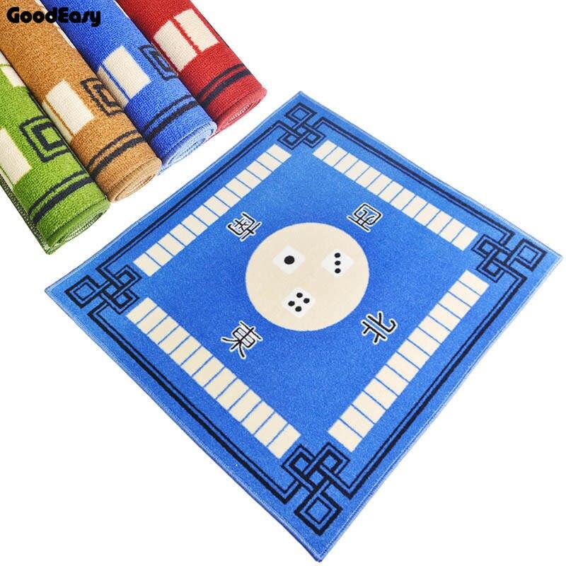 1 Uds Mahjong Mat engrosamiento Nuevo Hogar multifuncional Poker alfombra Mahjong manteles Mahjong Mesa 4color opcional
