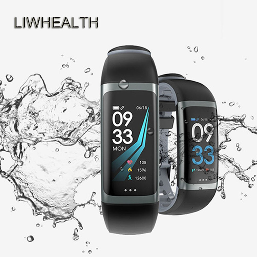 Cor relógio inteligente masculino/feminino reloj inteligente hr bp smartwatch app gps apto para ios/huawei/xiaomi montre conectar pk b57/q9