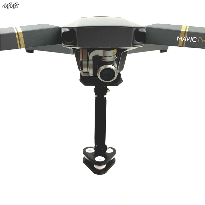 Para gopro Cámara de Acción 360 grados VR soporte de montaje de cámara de absorción de choque para DJI Mavic pro Drone Accesorios