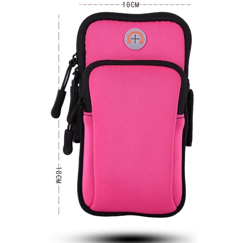 Outdoor Running Bag Hiking Sport Bag  Arm Suitable Bag For Running Solid Waterproof Material Multi-function Bag