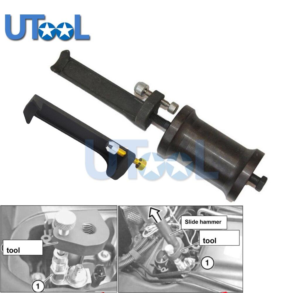 jtc набор фиксаторов распредвала для установки и регулировки фаз грм bmw n51 n52 n53 n54 oem bmw 114280 oem bmw 114290 vanos n51 n52 n55 jtc 4619ab Petrol Fuel Injector Remover Extractor Tool with Slide Hammer for BMW N43 N53 N54