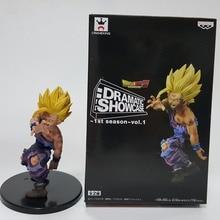 Dragon Ball Z figurines Son Gohan Super Saiyan 120mm dramatique vitrine Anime Dragon Ball Z figurines modèle jouets DBZ