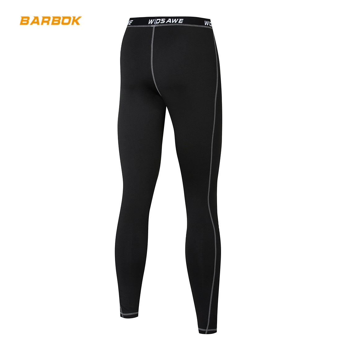 Mens Fleece Thermal Motocross Pants Base Layer Skin Tights Sports Windproof Pants Motorcycle Underwear Long Johns For Winter