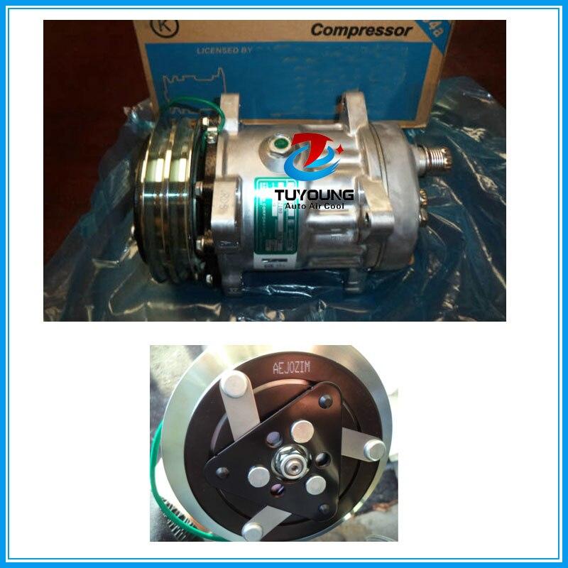 7H15 S8264 de aire para compresor de aire acondicionado 2 PK 24 V R134a de aire/bomba de compresor de CA 3730506580 S8264 1418602180