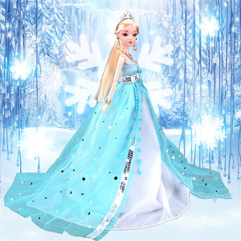 princess dress outfits doll clothes for barbie accessories play house dressing up costume kids toys gift Fantasy Princess Dress Outfits for Barbie  BJD Doll Clothes Accessories Play House Dressing Up