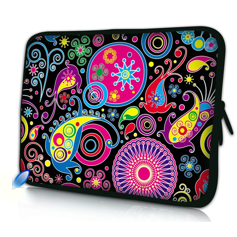 2015 New Laptop Sleeve Bag Case Carrying Handle Bag For 9.7 10 13 13.3 15 15.4 1 5.6 Inch Apple Dell