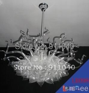 Big Size Hot Sale Hand Blown Modern Celling Light as Wedding Decoration LR098