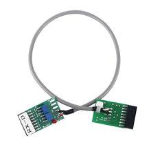 5*5*5cm Koper Radio Relais Station Repeater Connector Kabel TX-RX Vertraging voor Motorola GM300/ 338/3188/3688/950I/950E/SM120