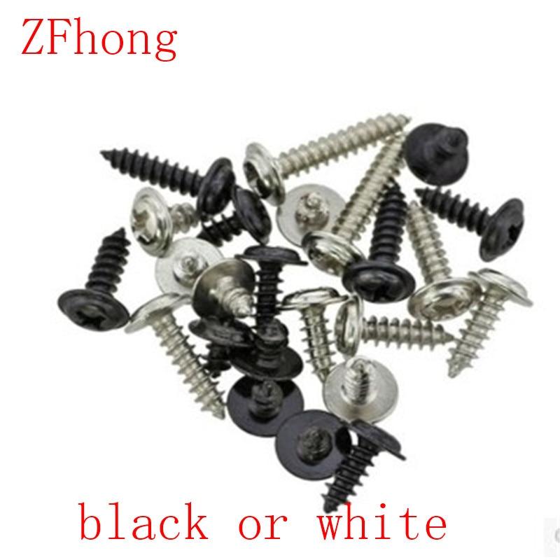 500 шт. M2 (2 мм) phillips круглая головка для мытья посуды, саморезы из стали с черным или белым
