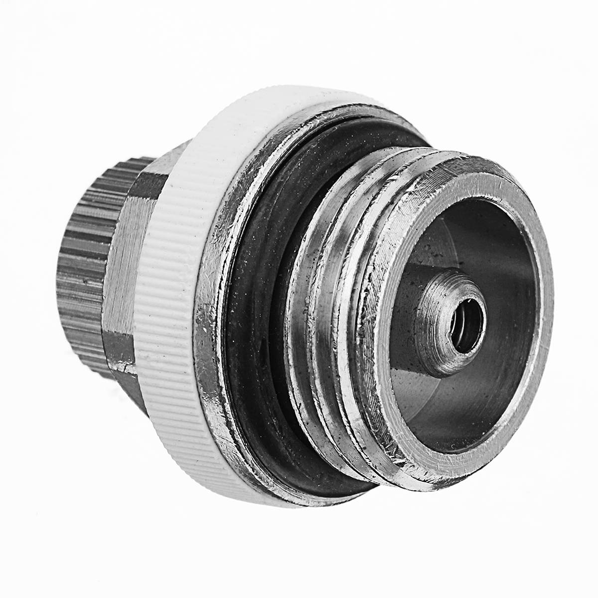 Válvula de radiador autosangrante de ventilación automática de aire de cobre de 1/2 pulgadas 30x30mm para radiador de calefacción de ventilación