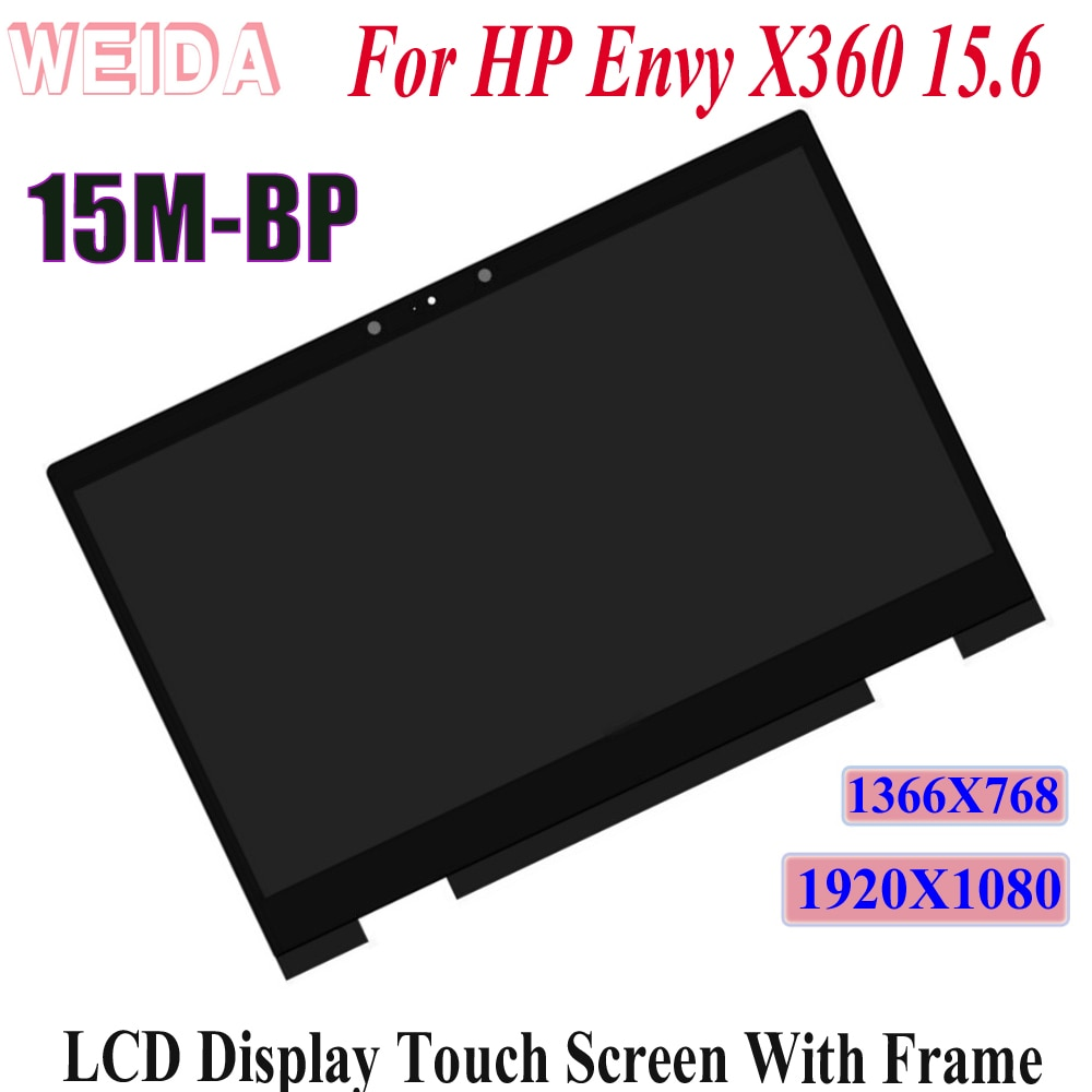 WEIDA LCD Touch Replacement For HP Envy X360 15M-BP 15M-CP Series  15.6