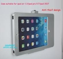 Tablet PC wand halterung Anti-Diebstahl design mit sicherheit lock fall geeignet für ipad air 1 2 für ipad pro 9.7 für ipad 2017 /ipad 5